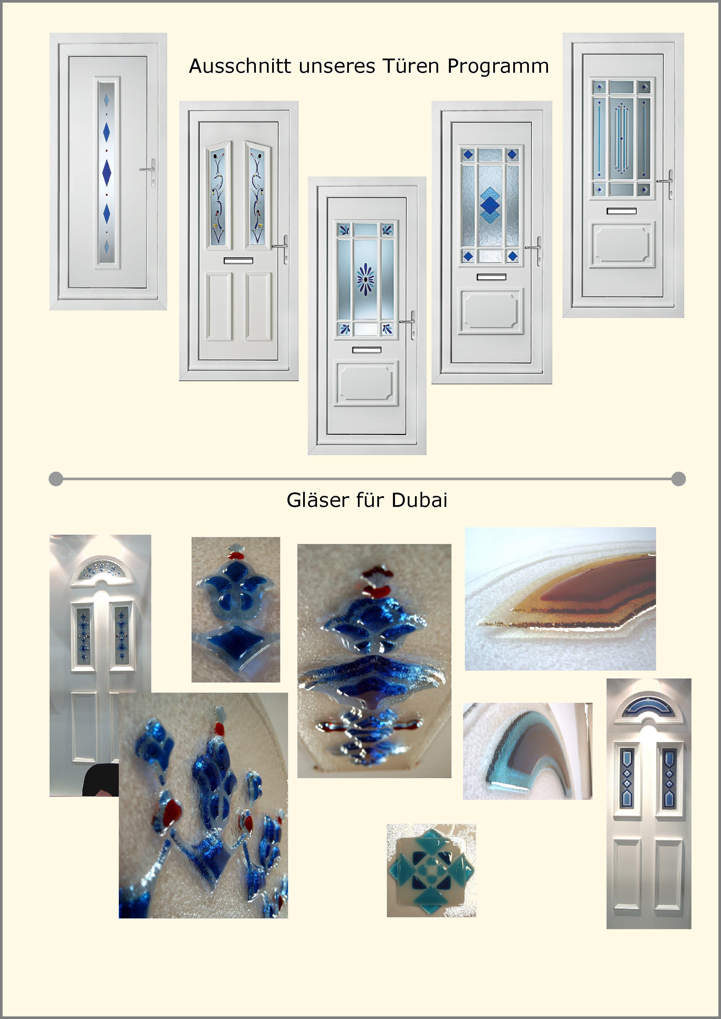 Glastür in Fusing Glas.Design und Fertigung exklusiver Türfüllung in ...